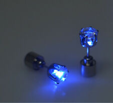 1PC Unisex Men Women's Light Led Studs Earrings Accessories For Party/Festival