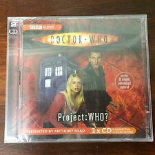 DOCTOR WHO PROJECT WHO New CD set BBC Radio Collection Anthony Head Documentary