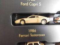 Herpa 1986 FERRARI TESTA ROSSA in oro metallizzato 1:87  NUOVO