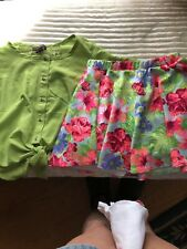 My Michelle Dress Shirt With Skirt Outfit Girls Size Small