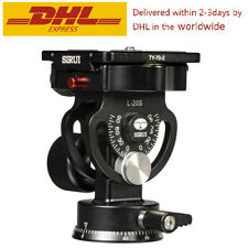 Sirui L-20S L20S Camera Tripod Tilt Head Two-dimensional Pan Heads For Monopod