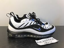 DS Nike Air Max 98 White Black Hyper Cobalt 2014 RETRO SIZE 11 100% AUTHENTIC