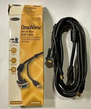 Brand New Belkin F3X1962-10 Pro Series OmniView All-in-one KVM Cable