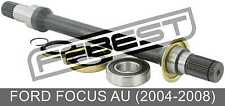Right Shaft 26X425X28 For Ford Focus Au (2004-2008)