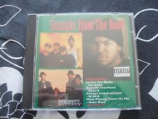 PRiORiTY - STRAiGHT FROM THE HOOD - 1991 - RARE HiP HOP CD - PA - KMC CONViCTS