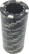 Poker Chips (25) Black Ace Jack 11.5 g Clay Composite FREE SHIPPING *