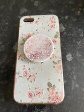 Funda de Silicona Rosa Impresión Iphone 5
