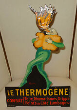 Superbe carton publicitaire 1900's le Thermogène d'après Cappiello