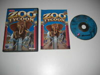 ZOO TYCOON 1 Pc Cd Rom Original Version with Manual - animal sim FAST POST