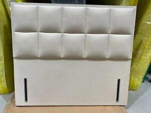 Hypnos Alexandra EURO SLIM Headboard 150CM king size Imperio Cream RRP £934
