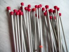 """Unbranded Imperial Knitting Needles size 7, 10"""" long,  one pair set #4"""