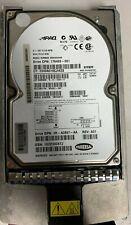 """COMPAQ 3.5"""" HARD DRIVE 9.1 GB 10K RPM 80 PIN SCS BD0096349A W/ COMPAQ CADDY"""