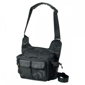Daiwa Side Fit Bag (C) Black Fishing Shoulder bag Free Shippng EMS From Japan