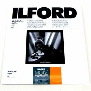 Ilford MGIV 8x10 Satin - 25 Pack - BRAND NEW