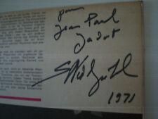 NIEDZIELSKI Signed Autograph 1971 FRANCE LP VINYL BEETHOVEN CHOPIN EDICI Piano