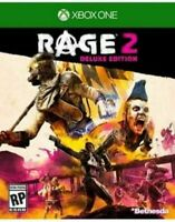 RAGE 2 -- Deluxe Edition (Microsoft Xbox One) Brand New Sealed