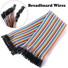 Male to female Solderless dupont Jumper Breadboard Wires 40pin Cable For Arduino