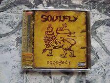 SOULFLY Prophecy CD JAPAN OBI + Mini CD