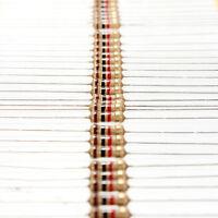 2X(100 PCS 1/4W 0.25W 5% 1 K OHM Carbon Film Resistor 1st Class Postage U CF)