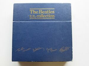 THE BEATLES E.P. COLLECTION   BLUE BOX SET BE EP 14