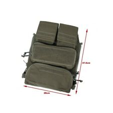 TMC Vest Pouch Zip On Panel 2.0 (RG) TMC3107-RG