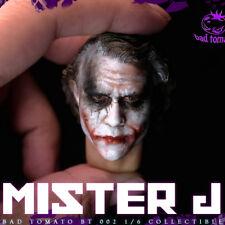 "Bad Tomato BT 002 1/6 Mister J Joker Head Sculpt B For 12"" Collectible Figure"