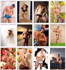 Male Nude Photographs Wall Calendar 2018 A4