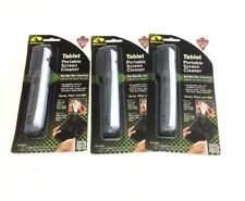 Lot of 3 Tablet Portable Screen Cleaners For: Smart Phones GPS Devices Laptops