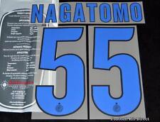 Inter Milan NAGATOMO 55 2013/14 football shirt Nom/Numéro Set Away SERIE A