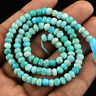 Genuine 49.50 Cts / 13 Inches Natural Untreated Drilled Amazonite Beads Strand