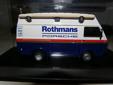 VERSION UNIQUE VW TRANSPORTER LT ASSISTANCE ROTHMANS PORSCHE 1984 1/43ème SCHUCO