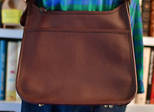 COACH Bag brown  leather  preOwned Day Hand purse  Cross Over