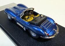 MINI MARQUE ILLUSTRA 1957 JAGUAR XKSS ROADSTER LTD: 20 HANDBUILT BNIB. MET. BLUE