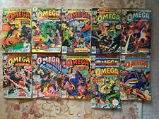 OMEGA the unknown collectable marvel comics lot 1 to 10