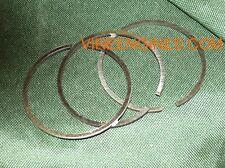 VIRE 6/7/12 PISTON RINGS (SET OF 3 UPRATED CHROMED FINISH STD SIZE)