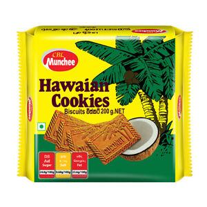 Munchee Hawaian Cookies Sri Lanka Tea Time Sweets Biscuits Quality - 200g