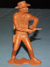 "VINTAGE COWBOY TOY 1964 LOUIS MARX 5 1/2""  PLASTIC GUN FIGHTER"