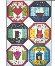 Last Minute Mug Mat Extravaganza quilt pattern by Doodle Time Desings