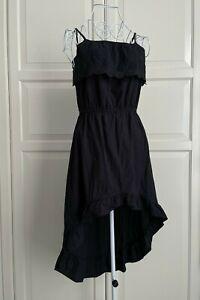 Miss Understood Black Cotton Dress Size 12