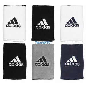 """ADIDAS Interval Reversible Tennis Wristband Large Golf Basketball 5"""" Wide"""