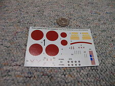 Revell Monogram decals 1/426 Pearl Harbor Attack Set  My ref -- Box 2 Lot 7
