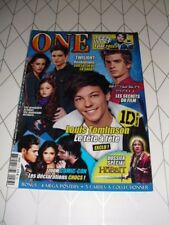 ONE n°77 août 2012 Louis Tomlinson Spider-man Twilight Hobbit Teen Wolf
