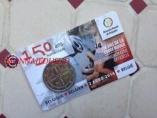 2 Euro CC Coincard BU Belgique 2014 - 150 Ans de la Croix Rouge