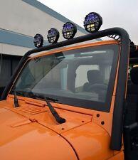 Body Armor 4X4 Front Light Bar 07-15 Jeep Wrangler JK-6126 Black