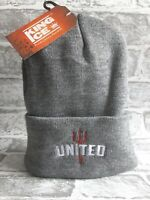 United Trident Bronx Hat - Light Grey for Manchester United Fans