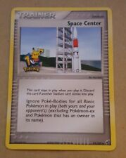 POKEMON PROMO CARD - SPACE CENTER - 10TH ANNIVERSARY - NASA