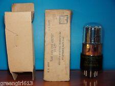 New listing Sylvania Jan Chs 6Sl7 Gt Vt-220 Vacuum Tube 1945 Results 1730/1670