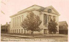 RPPC.Twin Falls,Idaho,Presbyterian Church,Wesly Andrews Photo,# 78,c.1910