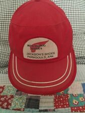 840f94b20397d Vintage RED WING SHOES Hat SnapBack Adjustable Trucker Cap