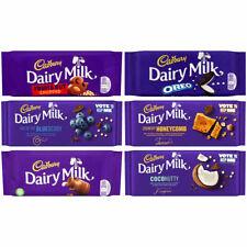 Cadbury Dairy Milk Chocolate or Fruit and Nut or Oreo Chocolate Bar Sweet Lover
